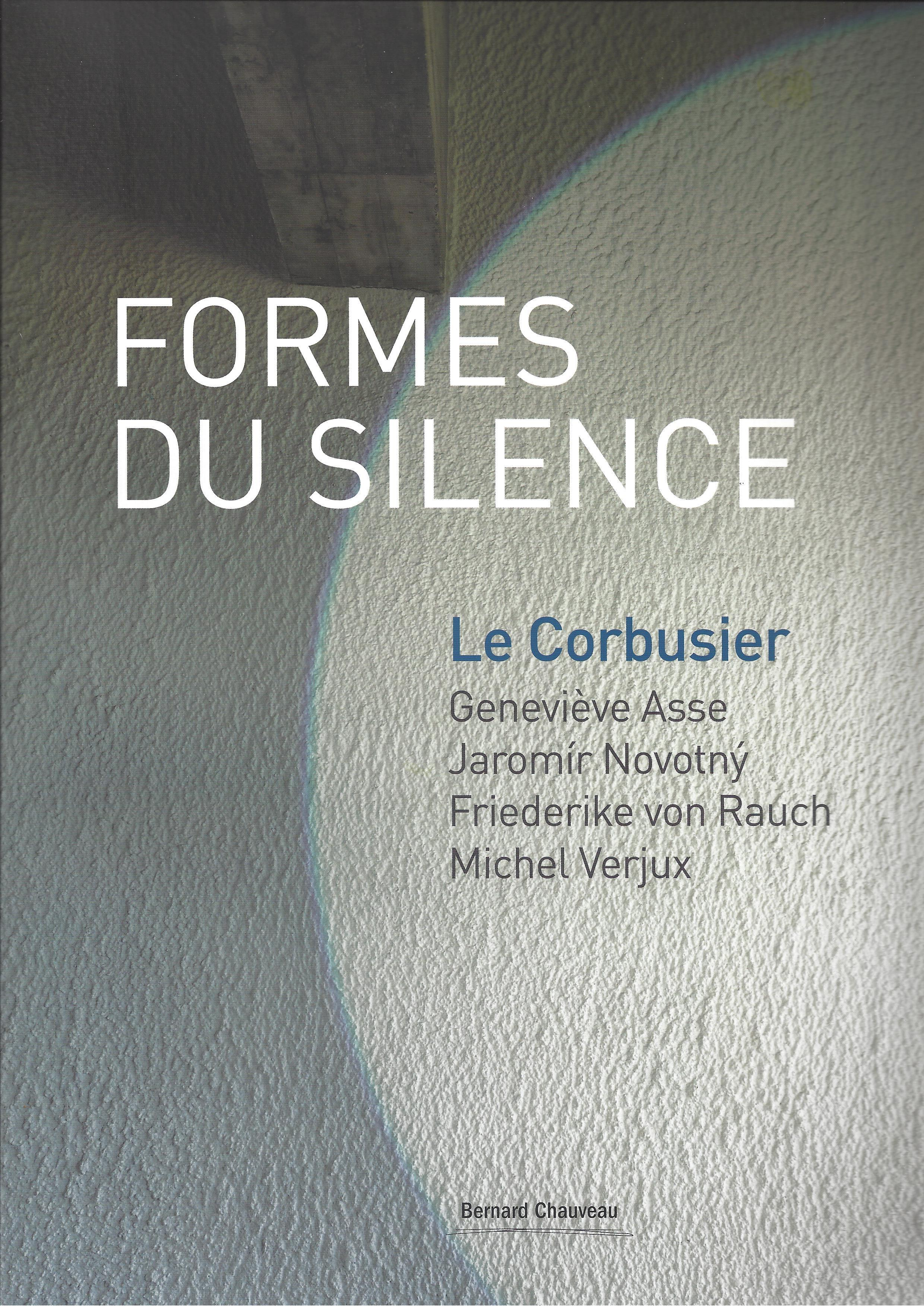 formes du silence catalogue